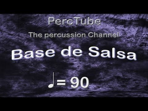 PISTA BASE DE SALSA EN Am - YouTube