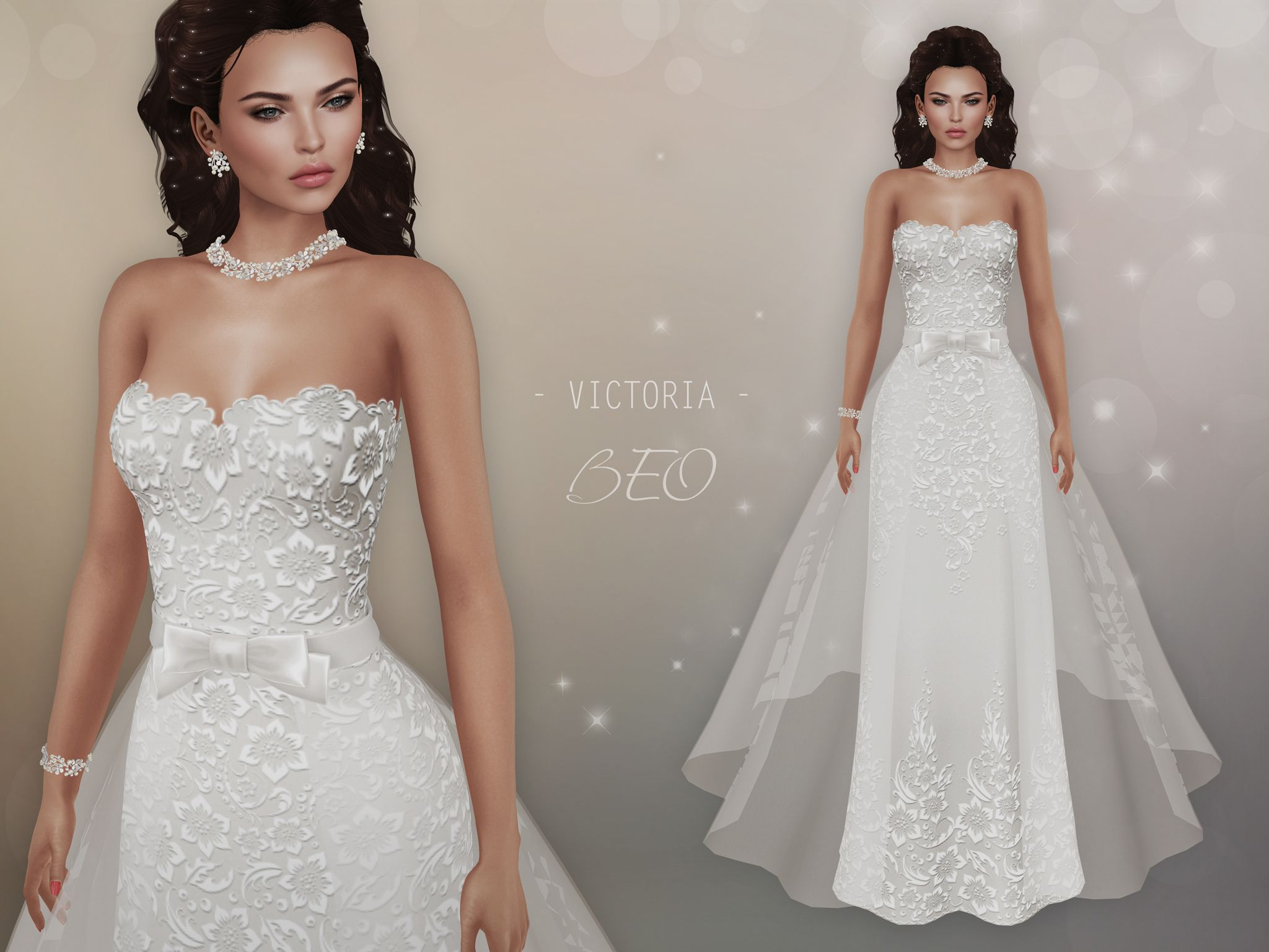 BEO – Victoria wedding gown