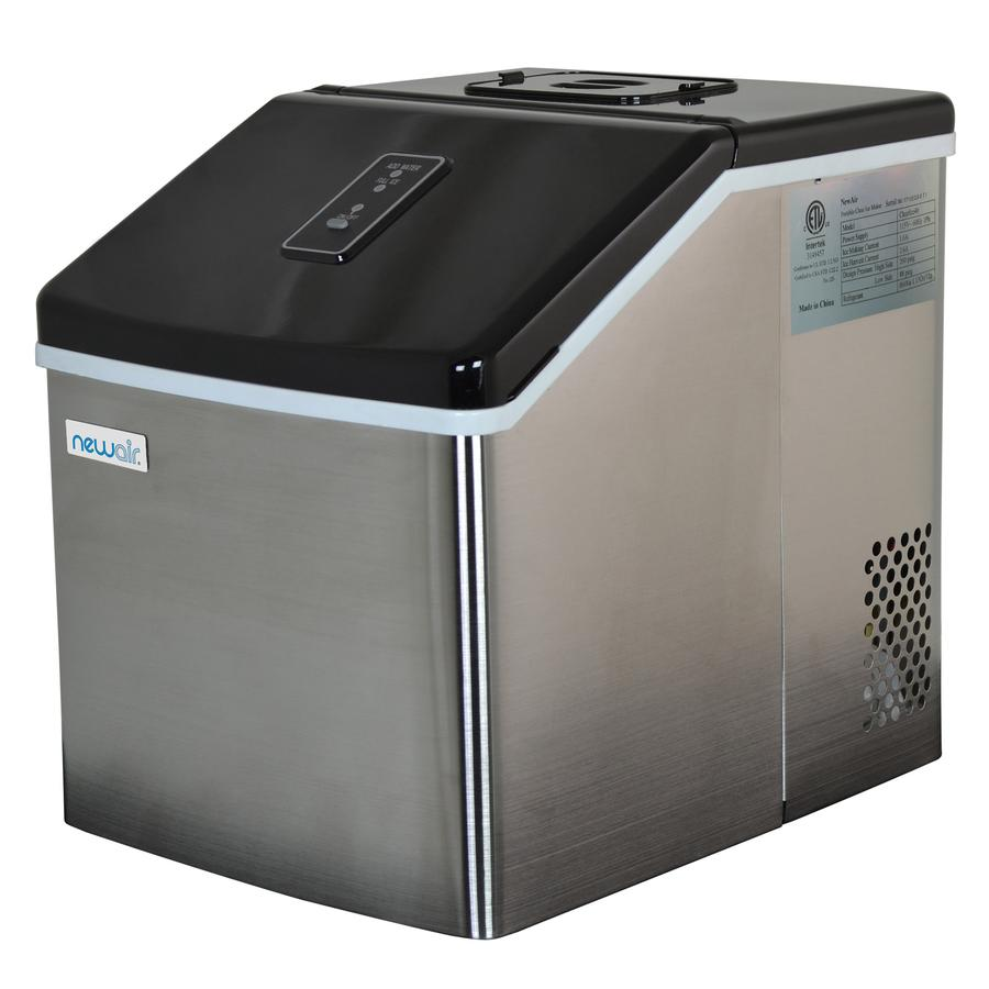 Countertop Clear Ice Maker 40 Lbs Of Ice A Day In 2020 With