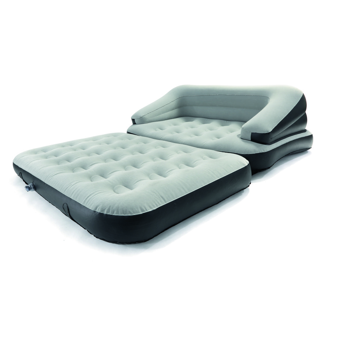 Multi Functional Sofa - Double Bed, Charcoal | Kmart