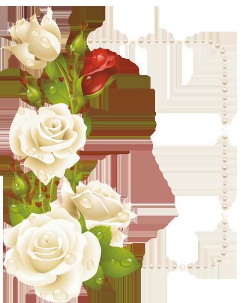 اطارات الورود 2018 سكرابز ورود للتصميم 3dlat Com 1410958937 Paper Flowers Flower Frame Floral Border Design