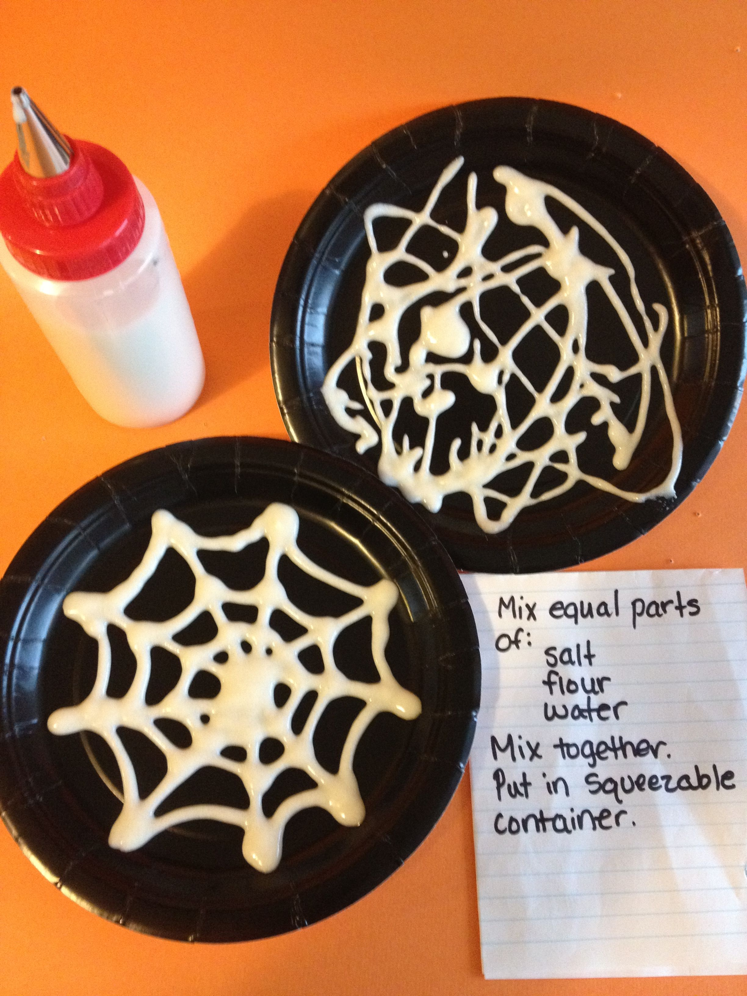 Preschool Spider Web Craft With Images