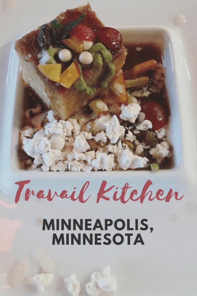 Travail Kitchen Minneapolis Minnesota A Super Fun 20 Course Tasting Menu