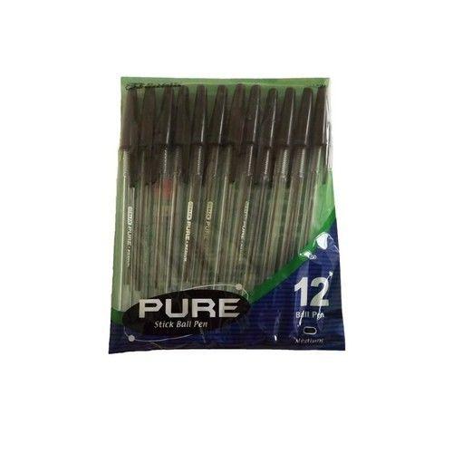 Stationery - Pure Stick Ball Pens - 12 pk.