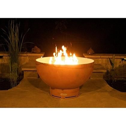 Eclipse Fpa Mls120 Lp Aweis 36 Fire Pit With 120k Btu Brass Burner And All Weather Electronic Fire Pit Art Wood Burning Fire Pit Fire Bowls