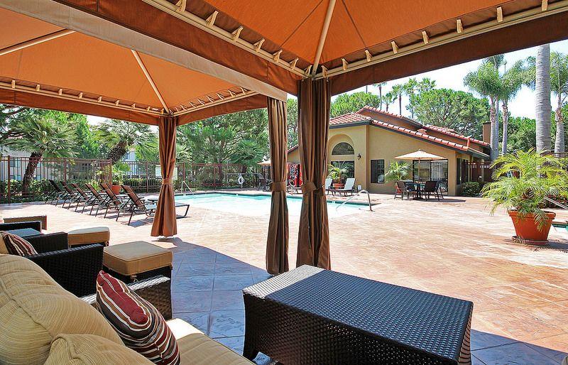 Mirada at La Jolla Colony Apartments Pool cabana