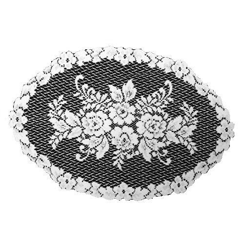 Heritage Lace Victorian Rose 13-Inch by 20-Inch Placemat, White, Set of 2 by Heritage Lace. $10.99. 13-Inch by 20-inch. Machine wash cold, gentle. Medium-gauge lace. Made in USA. Table textile. Victorian Rose 13-inch by 20-inch set of two White Placemat has a beautiful multiflora design with a lovely rose trim around the edges.