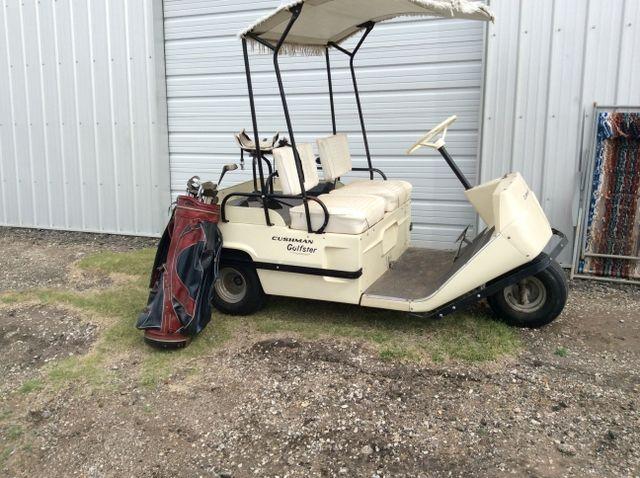 cushman golfster golf cart classic car gallery vintage golf rh pinterest com Cushman Titan Wiring Schematic Cushman Hauler 800 Wiring Diagram