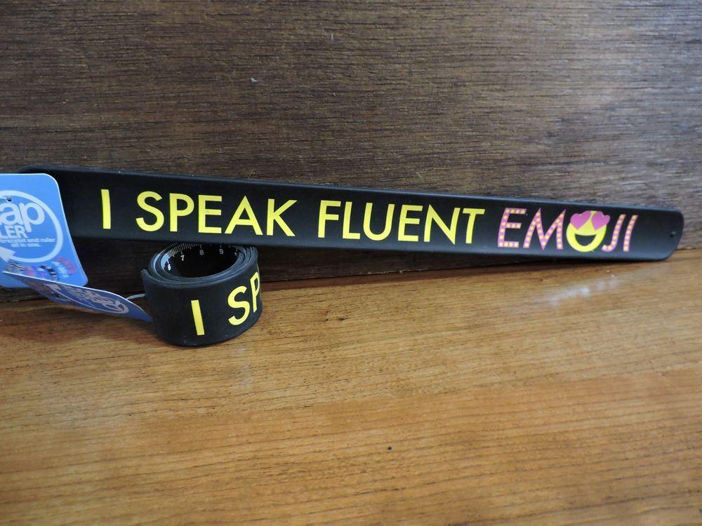 Silicone Slap Ruler 12 in 30 cm Measure Bracelet You Choose a Design