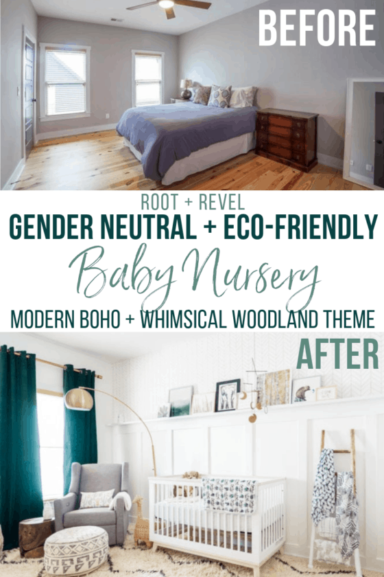 Natural Baby Nursery Design Reveal Baby Nursery Design Gender Neutral Nursery Decor Nursery Decor Neutral