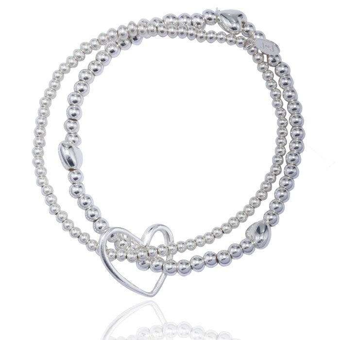 Lila Bracelet Silver & White Pearl By Joma En4Inw9wj
