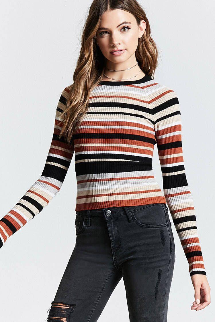 926a7772342ba5 Contemporary Striped Sweater