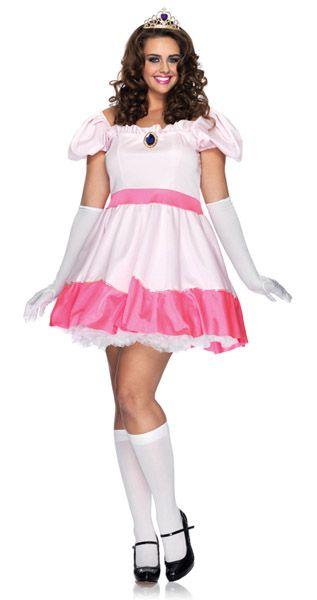 Mario Bros. Princess Peach plus size Halloween costume | Adorable ...