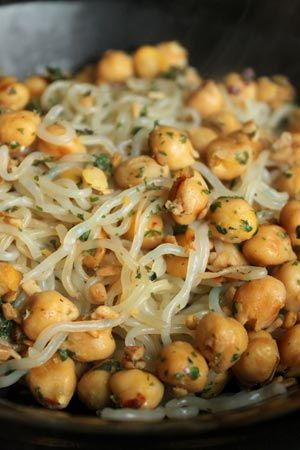 Spicy Chickpeas And Shirataki Noodles By Roni Noone Only 230