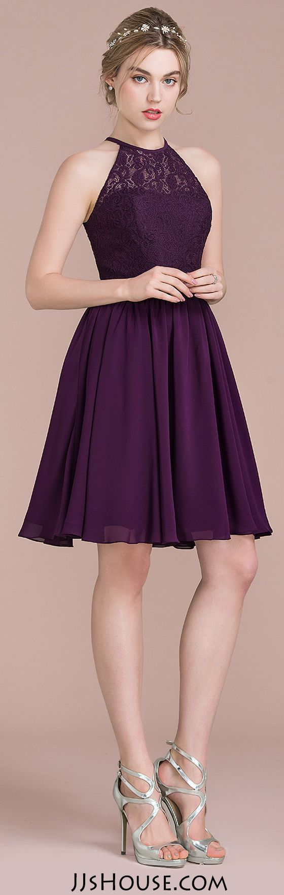 Short bridesmaid dresses for spring&summer wedding. 48 Colors Available Now! And all dresses cane be made to measure, no worry about size~~ #JJsHouse #lacebridesmaids