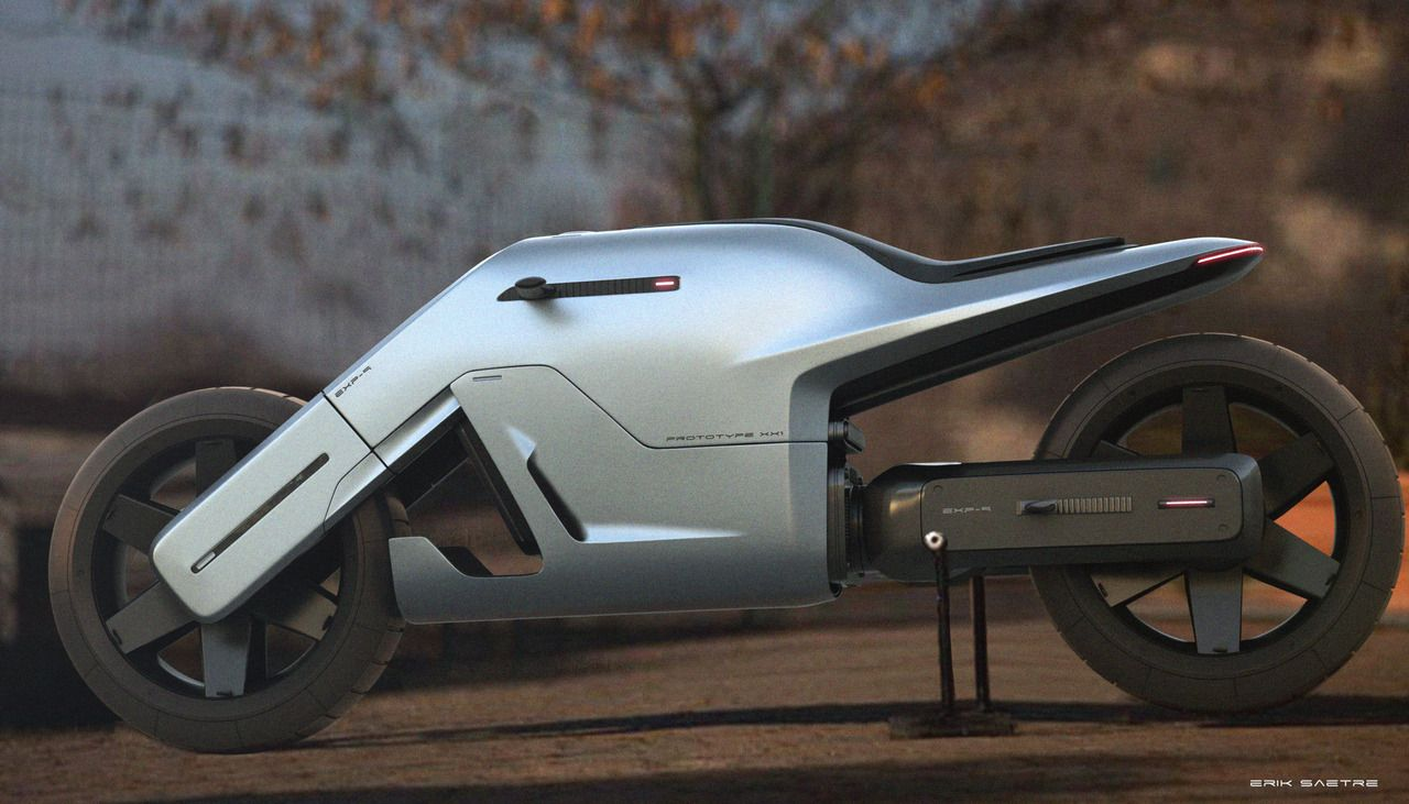 Bike Modeled In Modo With Images Futuristic Motorcycle
