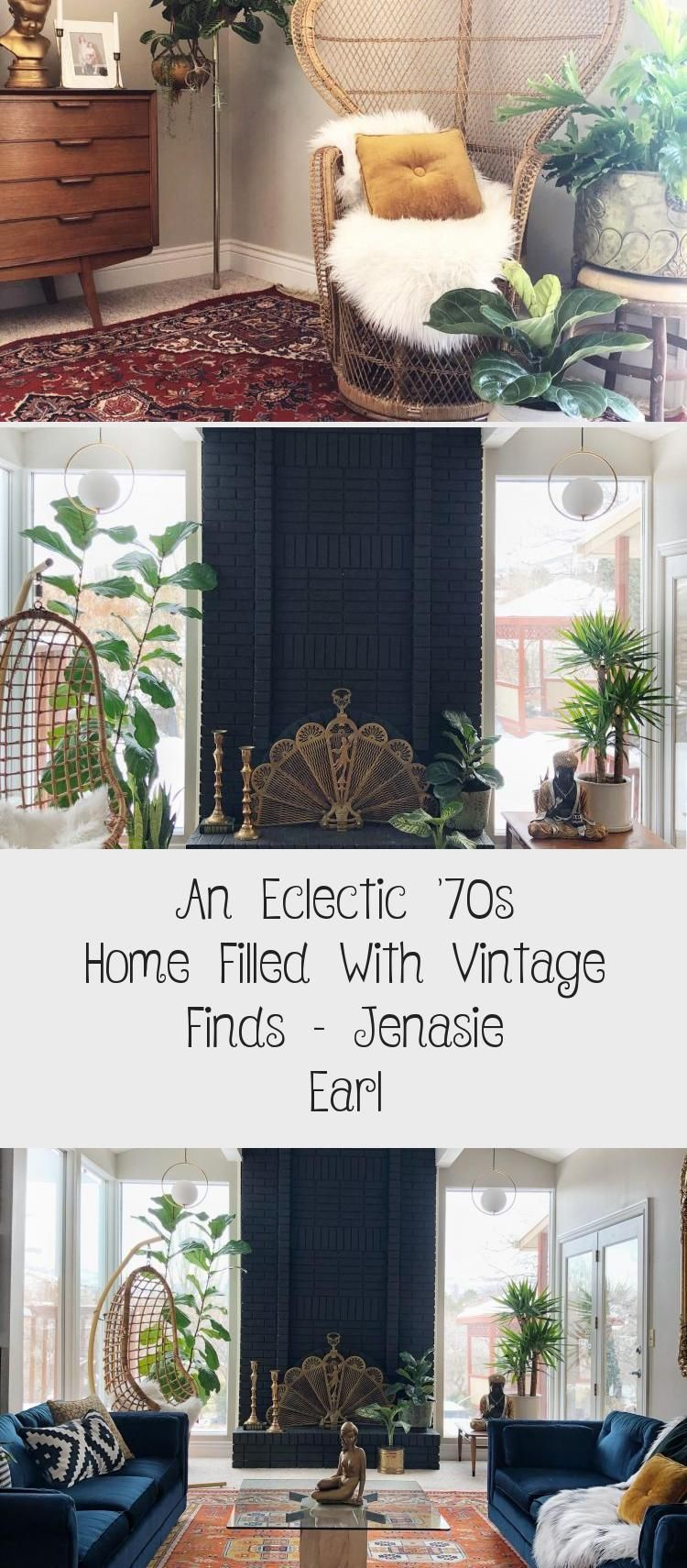 An Eclectic '70s Home Filled With Vintage Finds – Jenasie Earl - DECORATION -  Great guest room. An Eclectic '70s Home Filled With Vintage Finds – Jenasie Earl | Dark decor b - #70s #darkEclecticDecor #Decoration #Earl #Eclectic #EclecticDecorcolorful #EclecticDecorminimalist #EclecticDecorrustic #Filled #Finds #funkyEclecticDecor #Home #Jenasie #traditionalEclecticDecor #Vintage