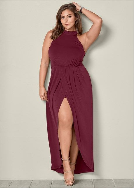 06799167a87 Long drape dress in 2019 | Caralyn Mirand | Draped dress, Fashion ...