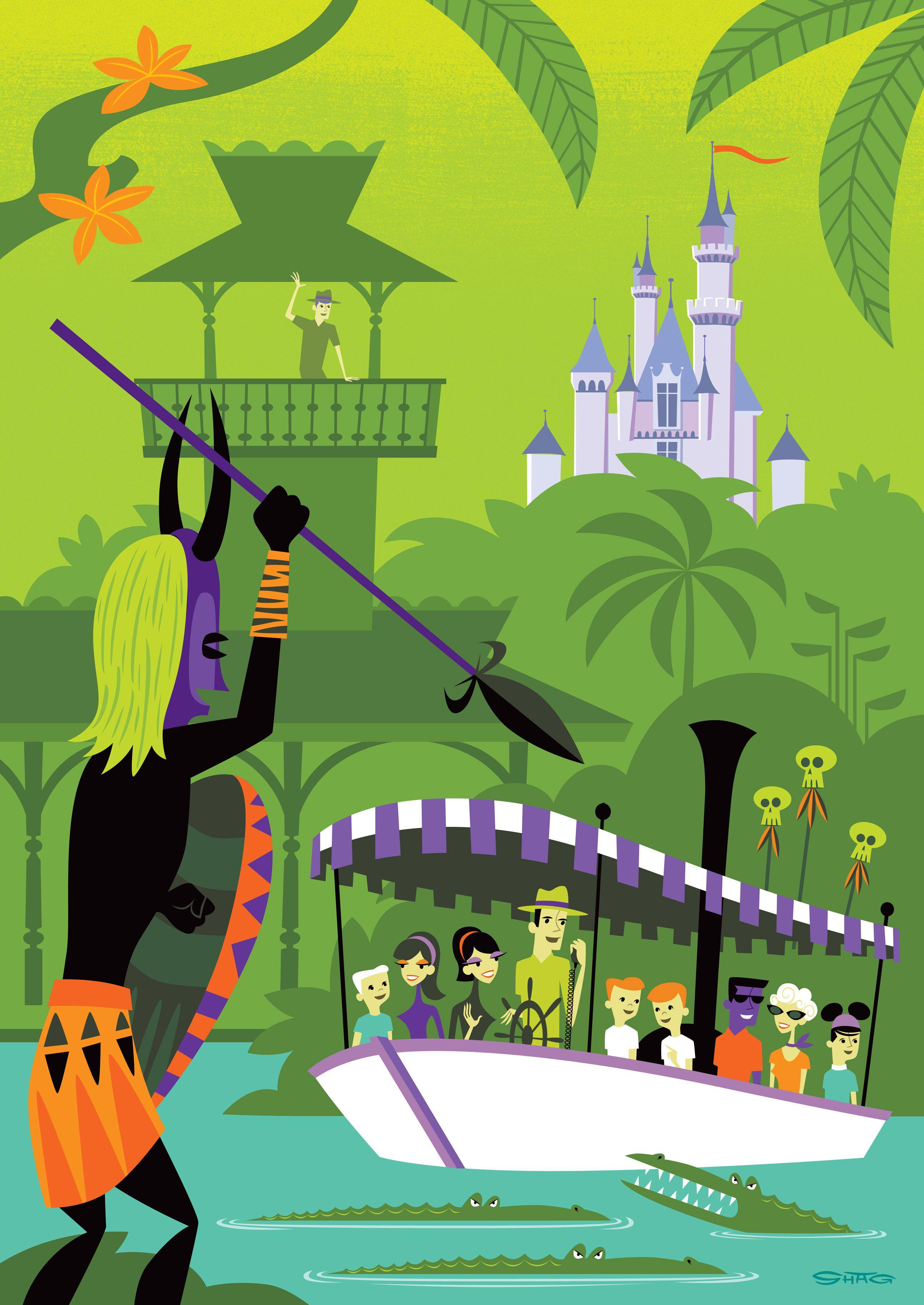 Shag Disney Prints