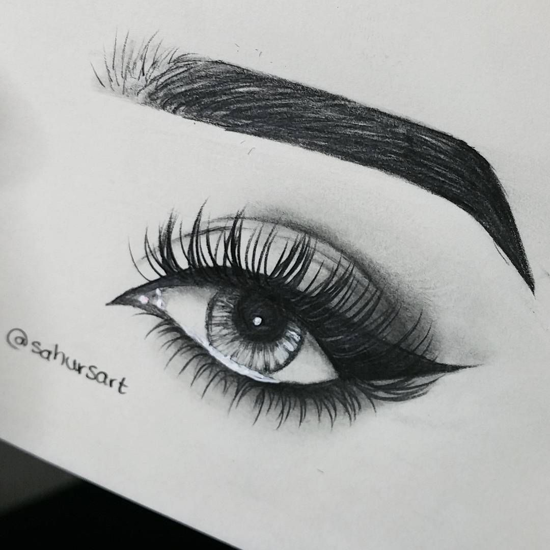 Eyelashesextensions Pencil Art Drawings Eye Drawing Sketches