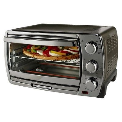 Oster Large Capacity Convection Toaster Oven Stainless Steel Tssttvsk02 Countertop Oven Convection Toaster Oven Toaster Oven