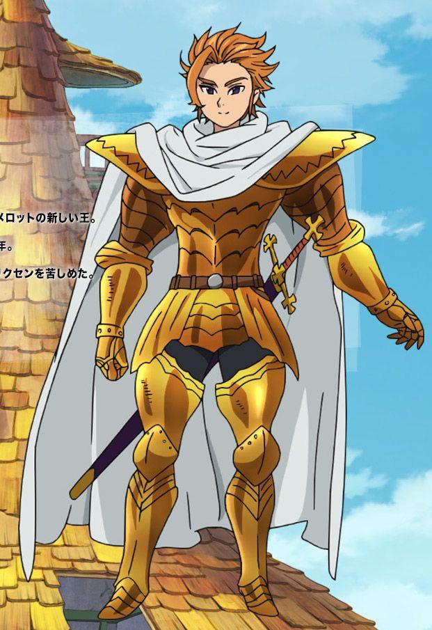 Nanatsu No Tazai Seven Deadly SinsKing Arthur Pendragon
