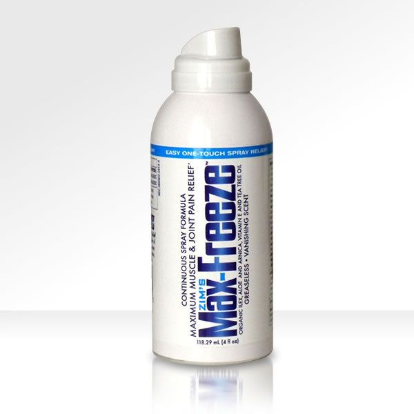 Helps my sore muscles after #crossfit workouts! Zim's USA - Max-Freeze Continuous Spray, $9.99 (http://www.zimsusa.com/pain-relief/max-freeze-continuous-spray/) #MaxFreeze