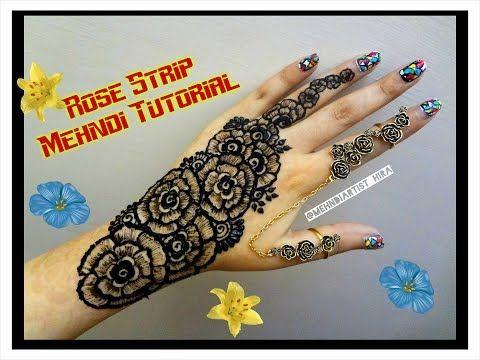Diy henna designs how to apply new easy rose strip bail mehndi diy henna designs how to apply new easy rose strip bail mehndi designs for hands altavistaventures Images