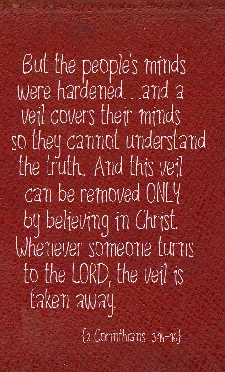 2 Corinthians 3:14-16