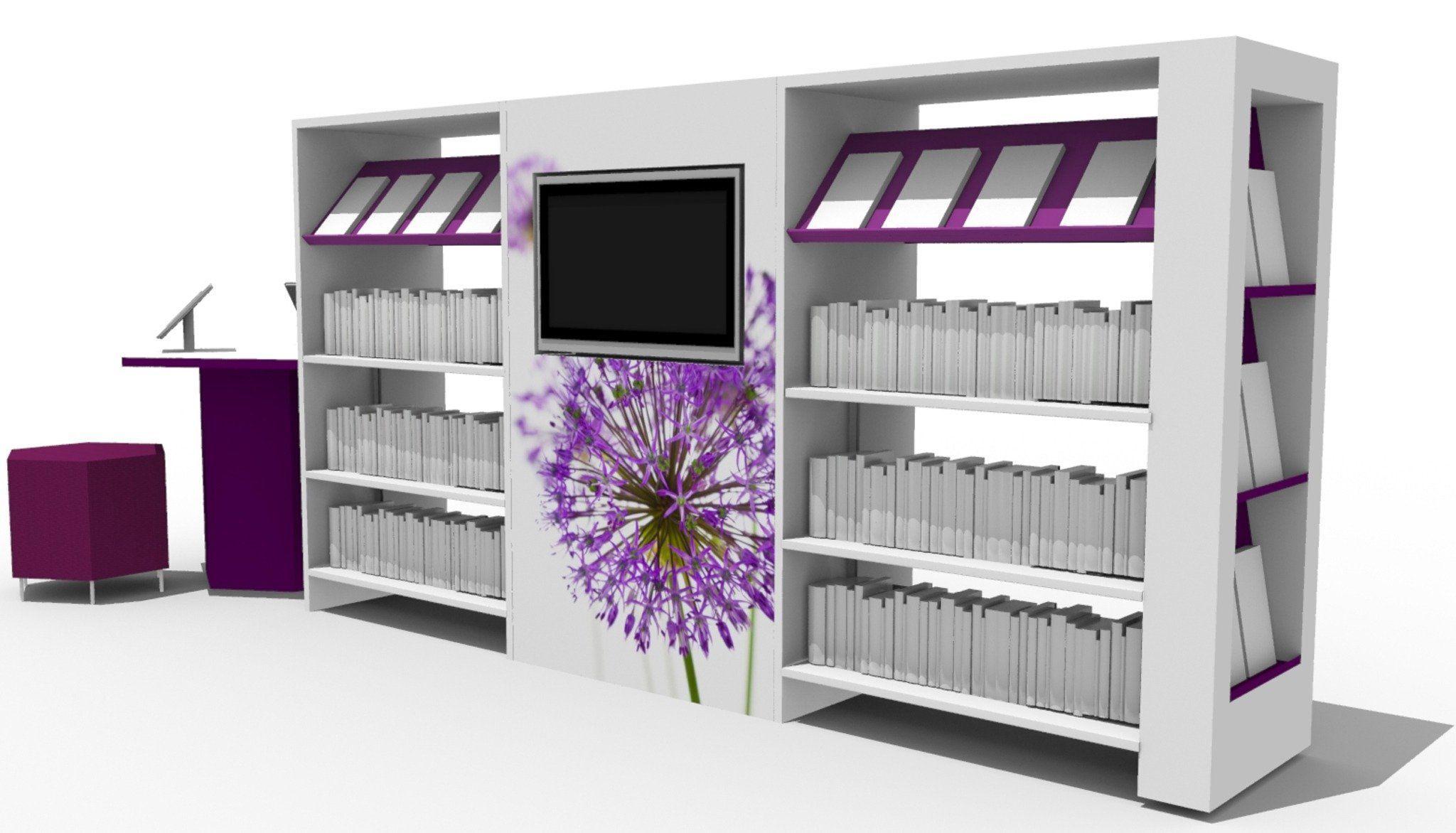 Library Shelving | Shelves & Storage | Demco Interiors#demco #interiors #library #shelves #shelving #storage