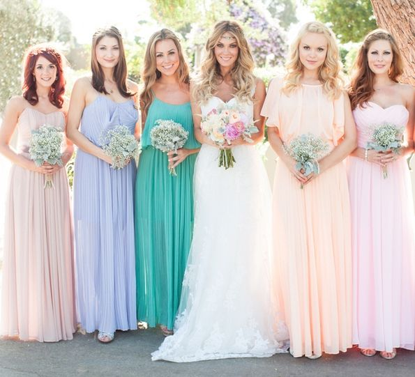 Spring Wedding Bridesmaids Dress Colours | When That Day Comes <3 ...