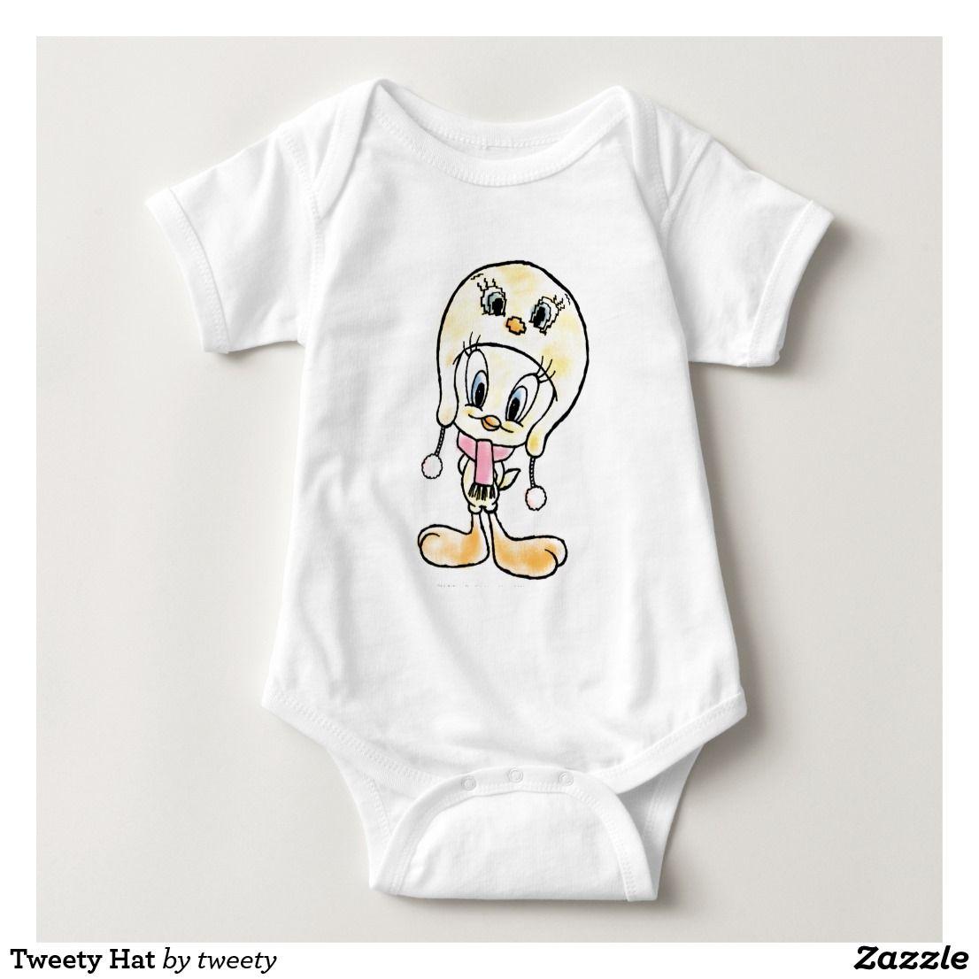 Tweety Hat Baby Bodysuit Baby bodysuit