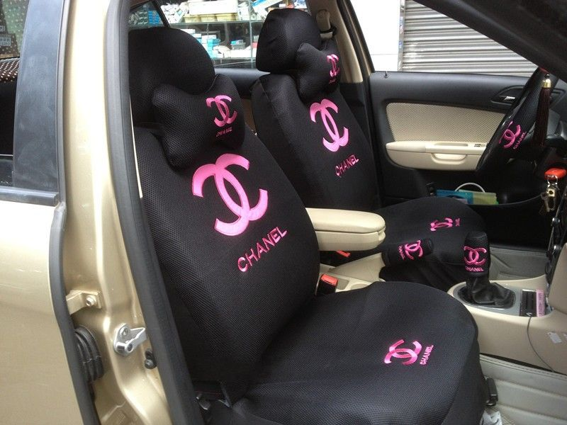 Living A Beautiful Life Channel Font B Car Seat Covers