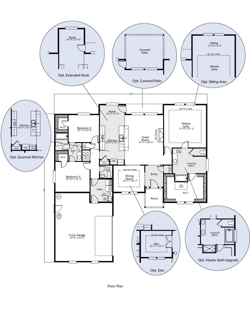 The Klickitat | Custom Floor Plan | Adair Homes | House ideas ...