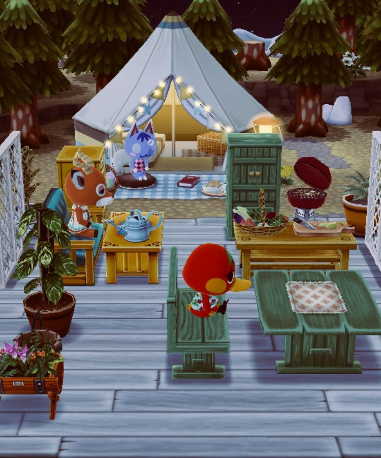 Happy Home Designer Tips: Animal Crossing Pocket Camp: Cynefin - Rosaris