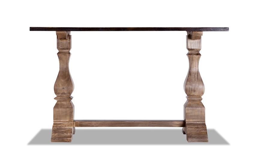 best loved e4754 3e08c Double Pedestal Console Table | Bob's Discount Furniture ...