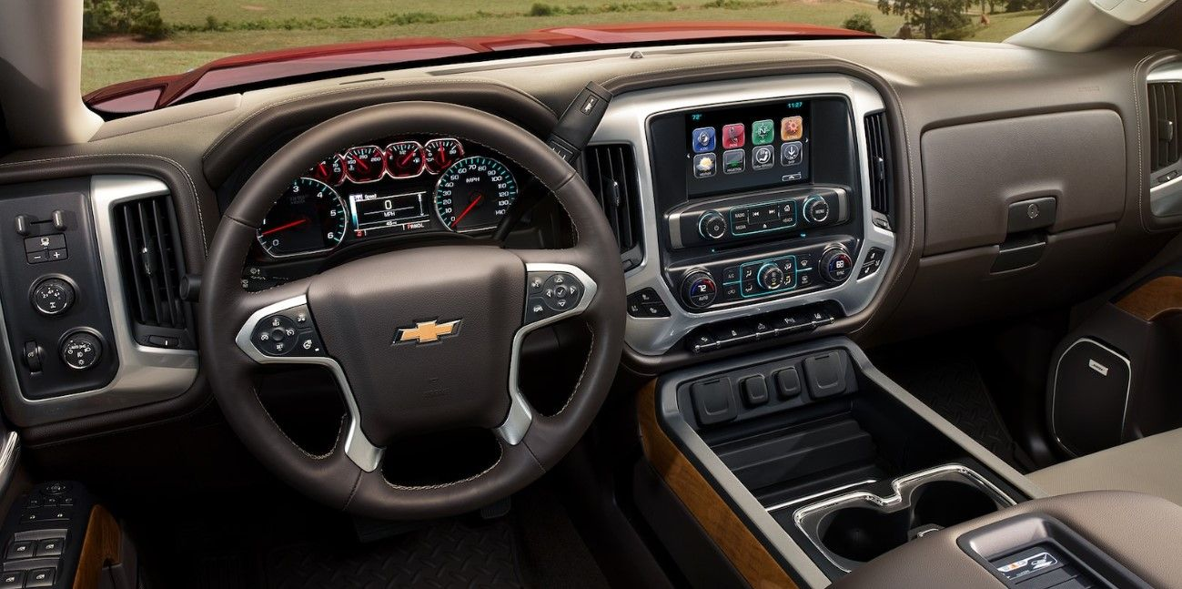 2020 Chevy Silverado 2500hd More Tools On Dashboard