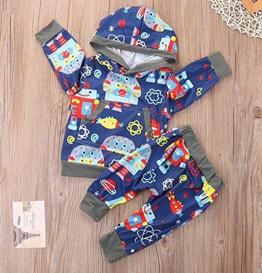 Robot Outfit Trendy Cheap Baby Clothes Online Baby Stuff