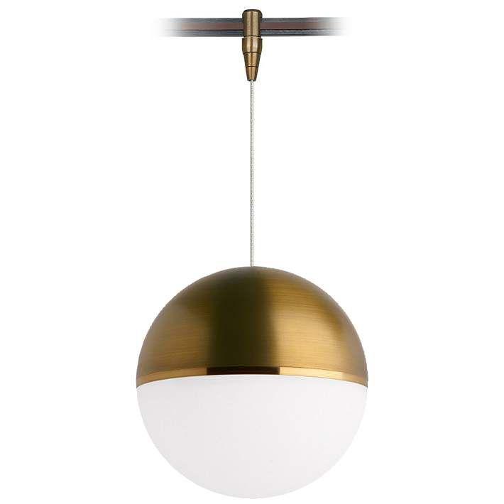 Tech lighting akova 7w aged brass led monorail mini pendant tech lighting akova 7w aged brass led monorail mini pendant aloadofball Image collections