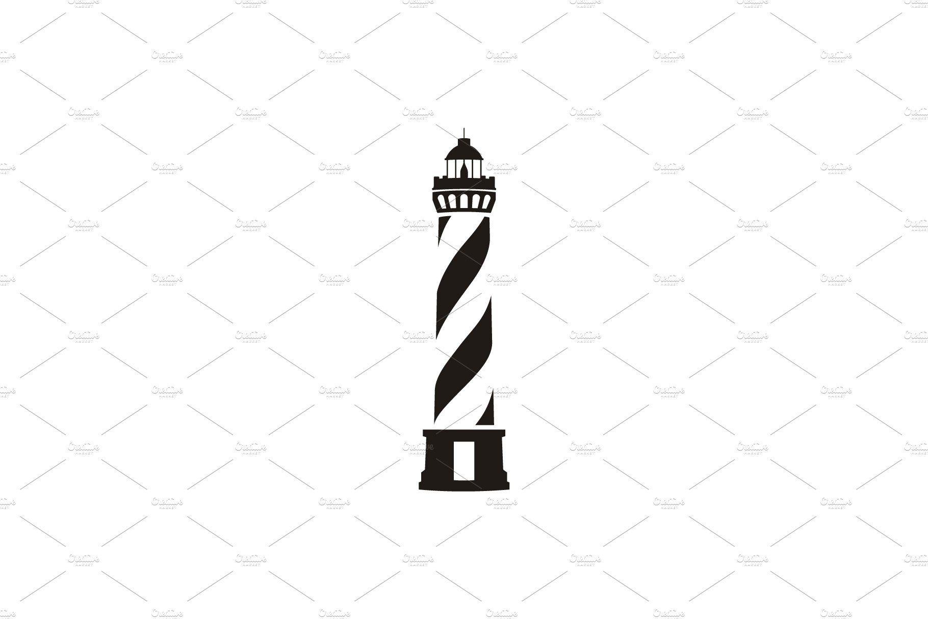 Simple Lighthouse Searchlight logo , AFFILIATE, file