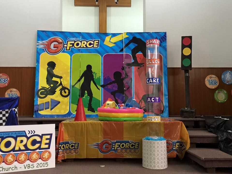 Love this set! Check out the traffic light too. Kowloon International Baptist Church in Hong Kong! cokesburyvbs.com   G force vbs. Bible. Study