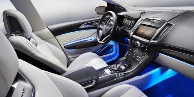 2017 Ford Edge Sport Interior View Ford Edge Ford Edge Sport