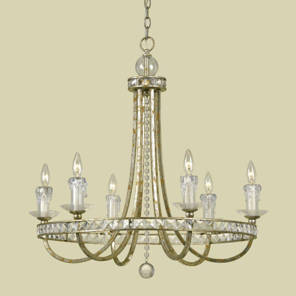Candice Olson 7451 6h 6 Light Aristocrat Chandelier Lighting