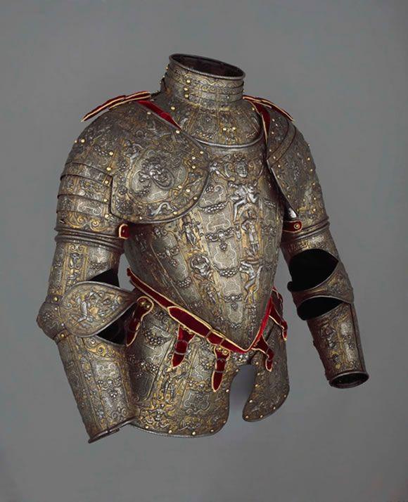 Ornate Italian armour
