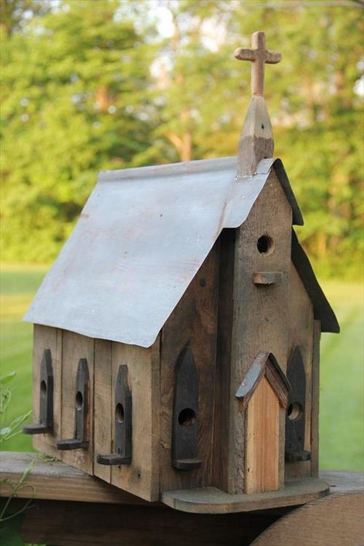 pallet wood birdhouse plans | birdhouse, pallet wood and pallets