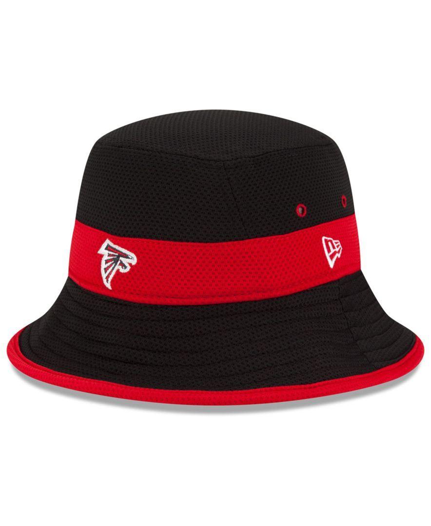 New Era Atlanta Falcons Training Camp Reverse Bucket Hat Sports Fan Shop By Lids Men Macy S Atlanta Falcons New Era Training Camp