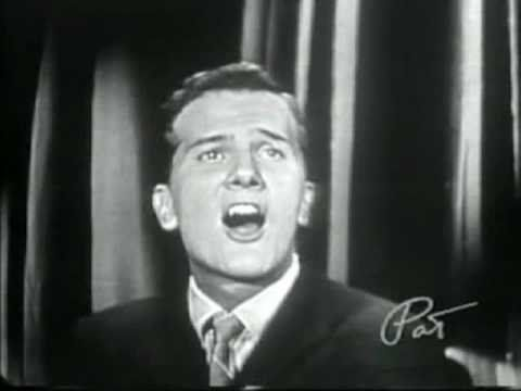 """""""Love Letters in the Sand"""" by Pat Boone."""