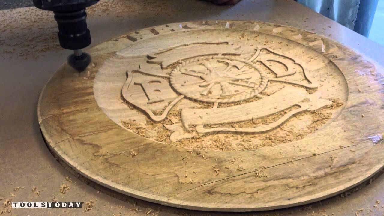 Watch Whiskey Lid CNC Project Using Insert V-Groove and 3D ...