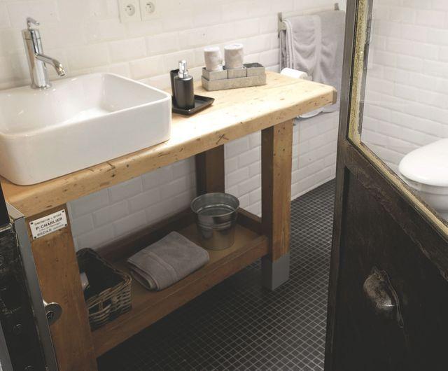 Diy Meuble De Salle De Bains 3 Idees Pour Un Relooking Meuble De Salle De Bain Meuble Salle De Bain Meuble Vasque