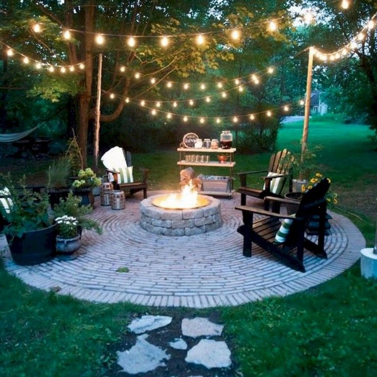 Outdoor Lightingdesign Ideas: 50 Handsome Backyard Lighting Decor Ideas And Remode